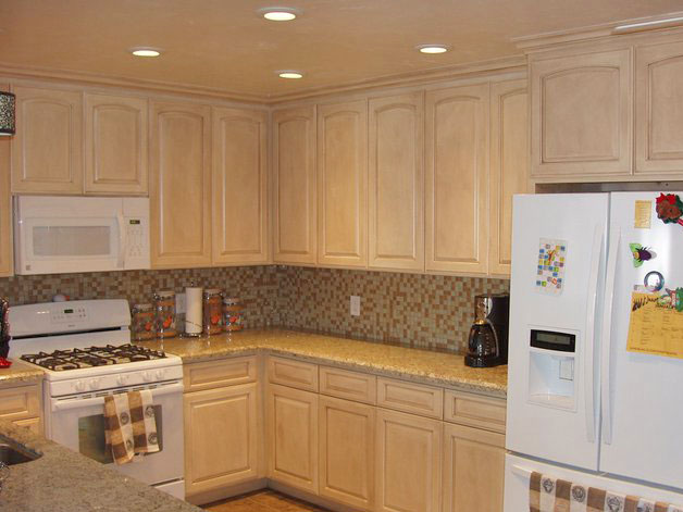 kitchen cabinets san diego.  Speckled Finishes Distressed Cabinets Finishing and Painting Kitchen Davis San Diego