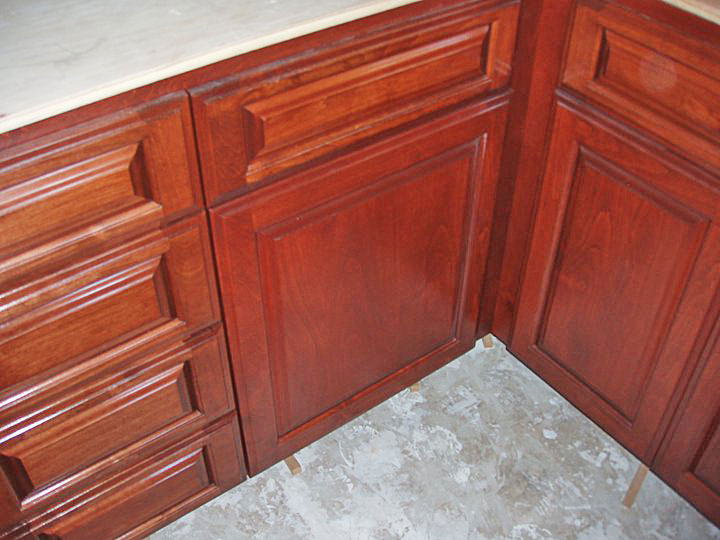 Finishing and Painting Kitchen Cabinets | Davis Cabinets, San Diego